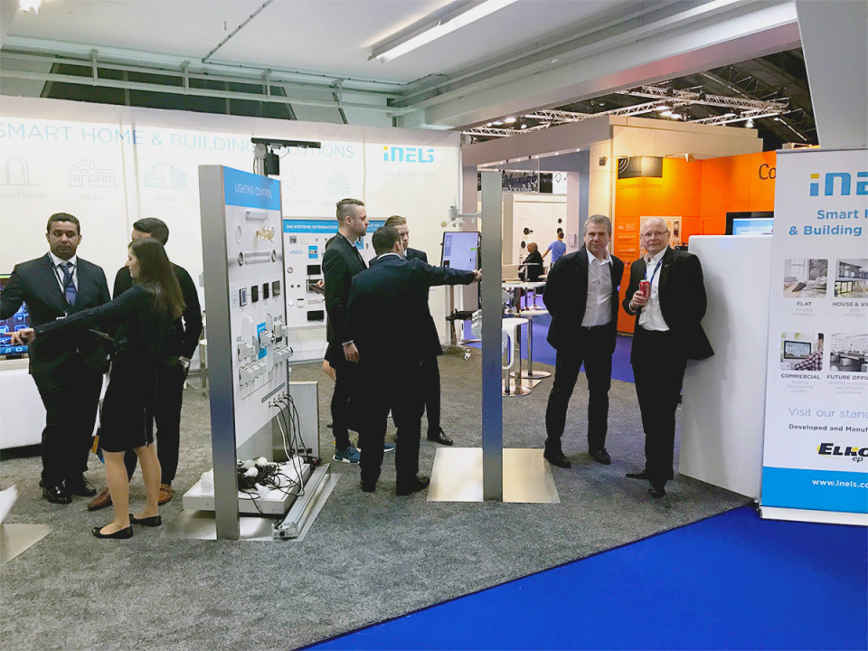 Exhibition Stand 2017 : Thank you for visiting our exhibition stand on ise