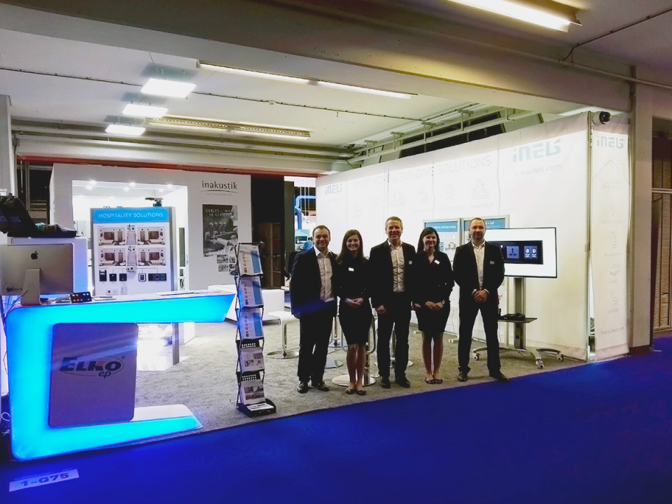 Exhibition Stand On : Thank you for visiting our exhibition stand on ise 2017 exhibition