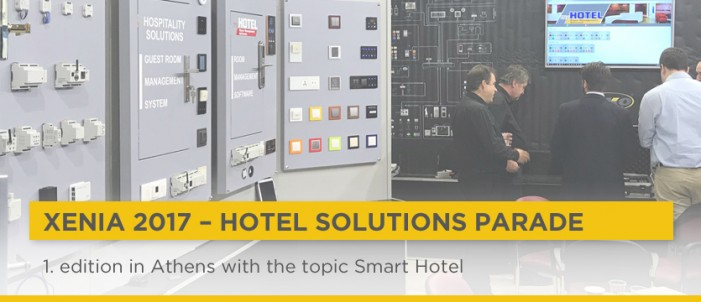 For the first time in Athens, to showcase hotel solutions photo