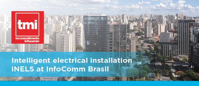 Intelligent electrical installation iNELS at InfoComm Brasil  photo