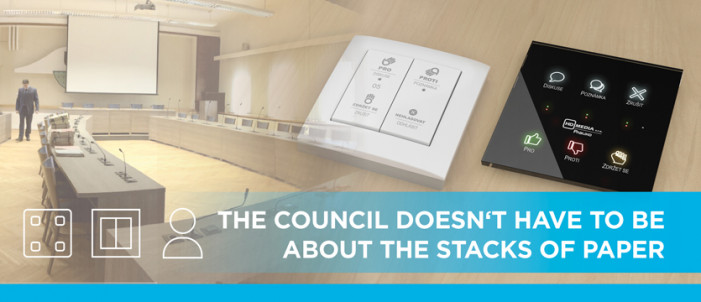 The council doesn't have to be about the stacks of paper photo
